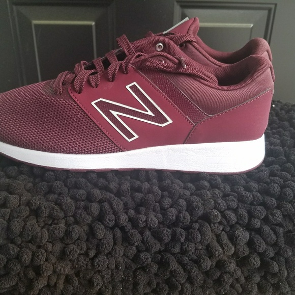 db9b89b627a Burgundy New Balance 24 Sneaker - women s